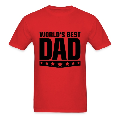 World's Best Dad - Men's T-Shirt