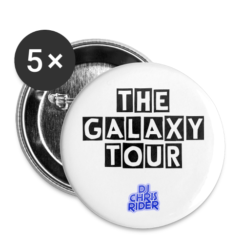 Tour Pins - Large Buttons