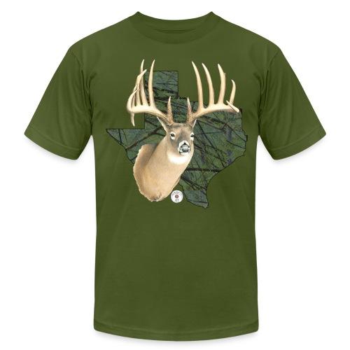 Texas Buck Camo - Men's  Jersey T-Shirt