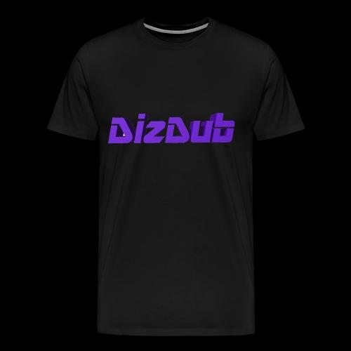 DizDub Logo Premium Tee - Men's Premium T-Shirt