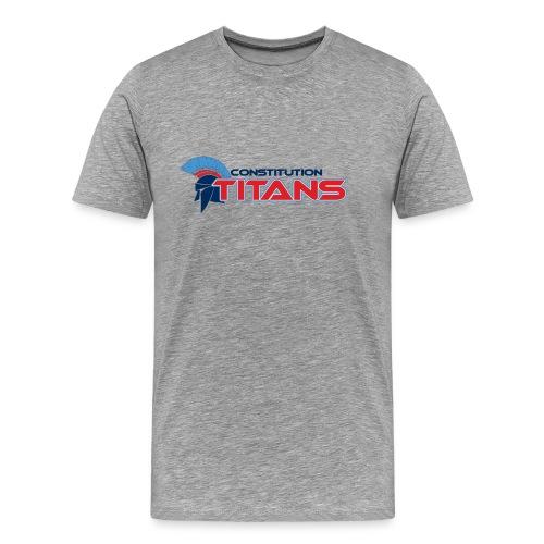 Constitution Titans (Big Man) - Men's Premium T-Shirt