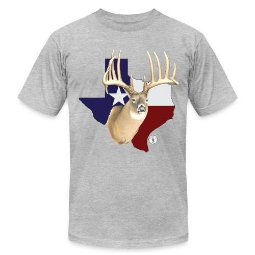 Big Buck Texas - Men's Fine Jersey T-Shirt