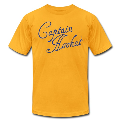 Captain Hookat Logo Tee - Men's Fine Jersey T-Shirt