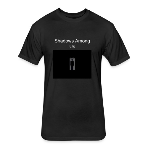 Shadows Among Us - Black - Fitted Cotton/Poly T-Shirt by Next Level