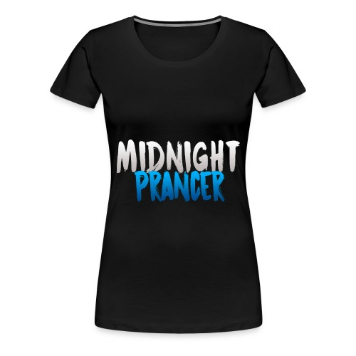 Midnight Prancer (Woman's) - Women's Premium T-Shirt