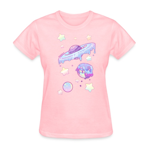 Drippy Planets - Women's T-Shirt