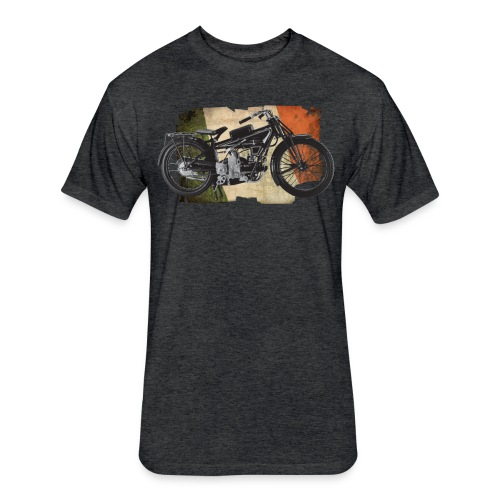 Italian Motorcycle - Fitted Cotton/Poly T-Shirt by Next Level