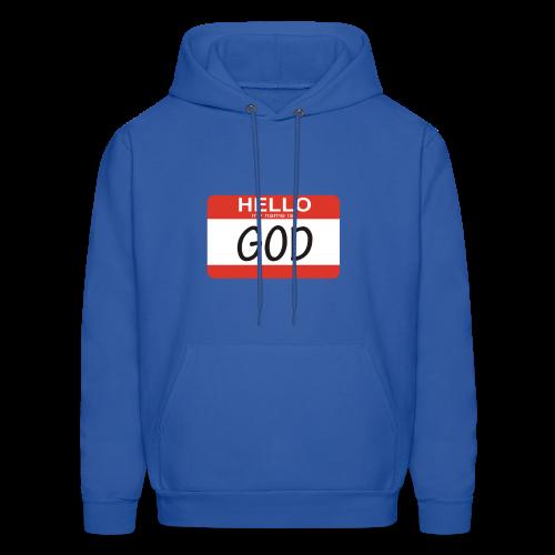 My Name Is God Hoodie - Men's Hoodie