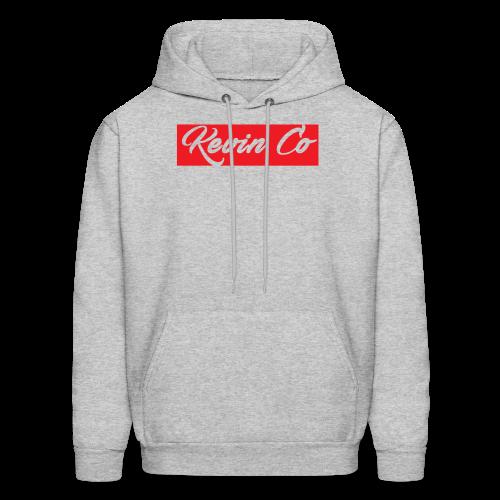 Kevin Co hoodie (Red/transparent) - Men's Hoodie