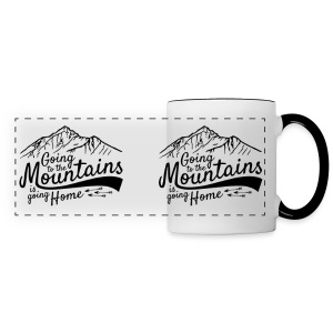 Going to the Mountains Mug - Panoramic Mug