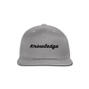 classic Knowledge - Snap-back Baseball Cap