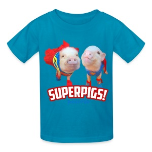 Kid's Superpigs - Kids' T-Shirt