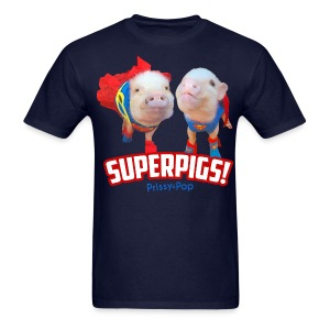 Mens SuperPigs - Men's T-Shirt
