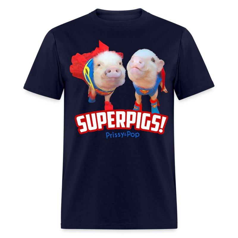Mens SuperPigs - Men's T-Shirt