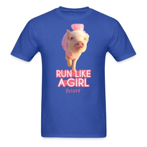 Run Like A Girl Mens shirt - Men's T-Shirt