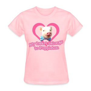 My Heart Belongs to Poppleton Womens - Women's T-Shirt