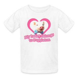 My Heart Belongs to Poppleton Kids - Kids' T-Shirt