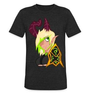 Female Demon Hunter Unisex Tee - Unisex Tri-Blend T-Shirt