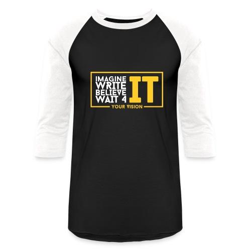 Vision Tee  - Baseball T-Shirt