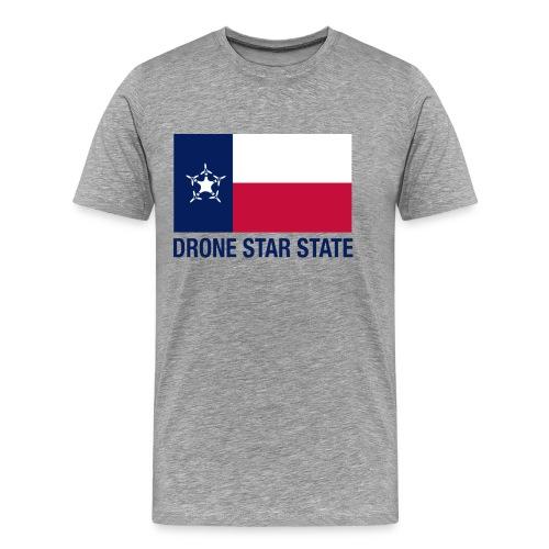 Drone Star State - Gray - Men's Premium T-Shirt