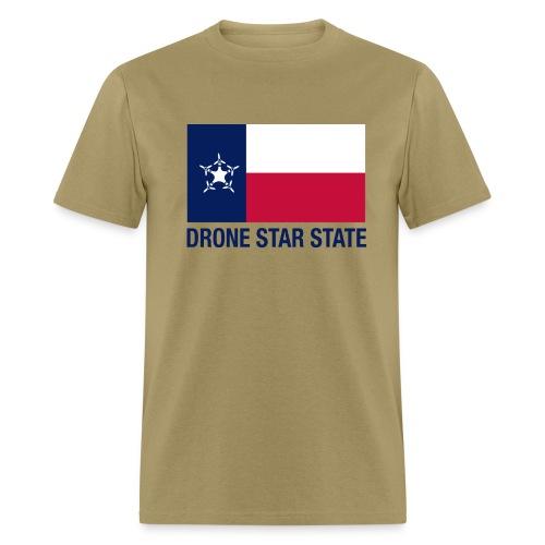 Drone Star State - Tan - Men's T-Shirt
