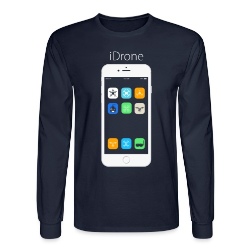 iDrone - Men's Long Sleeve T-Shirt