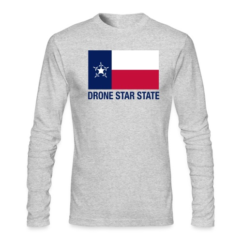 Drone Star State - Long Sleeve - Men's Long Sleeve T-Shirt by Next Level