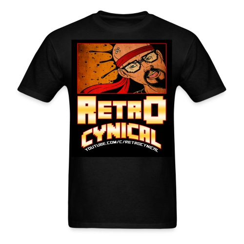 Retro Cynical Men's Tee - Men's T-Shirt