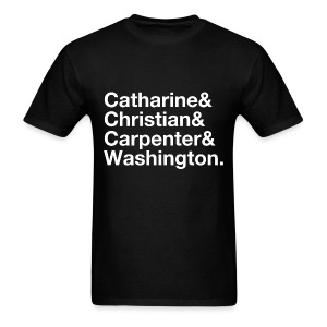 Philly Streets - Catharine & Christian & Carpenter & Washington - Men's T-Shirt