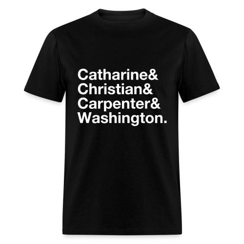 Philly Streets - Catharine & Christian & Carpenter & Washington - Men's T-Shirt