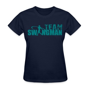 swingman womens blue shirt - Women's T-Shirt