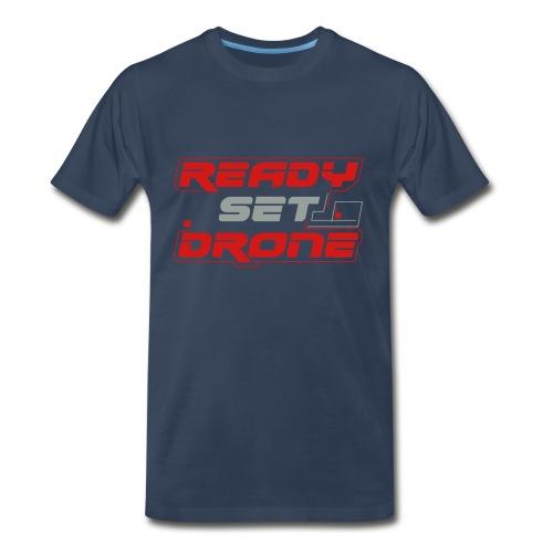 Ready Set Drone - Classic Blue - Men's Premium T-Shirt