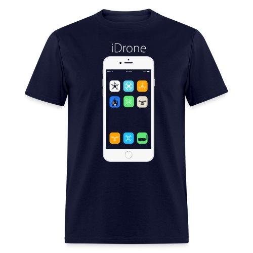 iDrone - Navy Blue - Men's T-Shirt