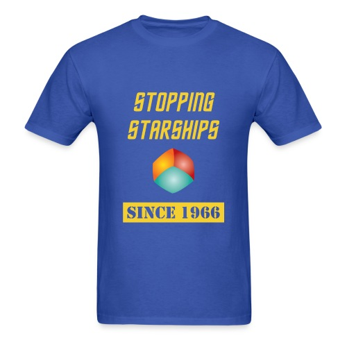 Stopping Starships Corbomite Maneuver Episode 10 - Men's T-Shirt