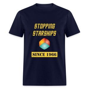 Stopping Starships Corbomite Maneuver Episode 10 - Men's T-Shirt