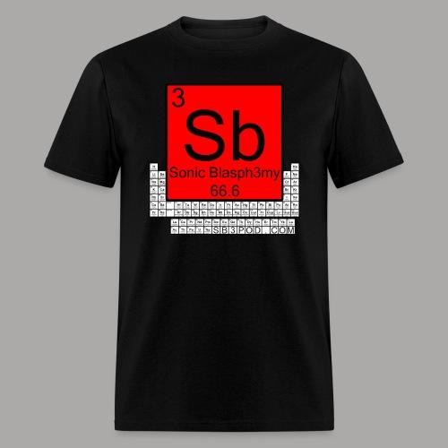 Periodic Table Men's Tee - Men's T-Shirt