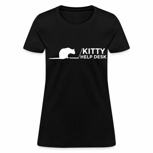 Kitty Help Desk Tee - Women's T-Shirt