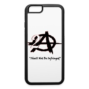 2A Anarchy blk font Phone & Tablet Cases - iPhone 6/6s Rubber Case