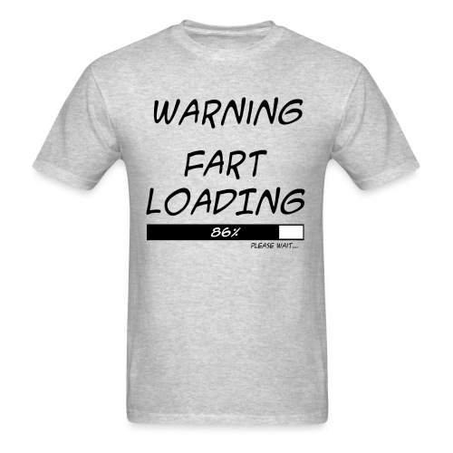 Warning - Men's T-Shirt