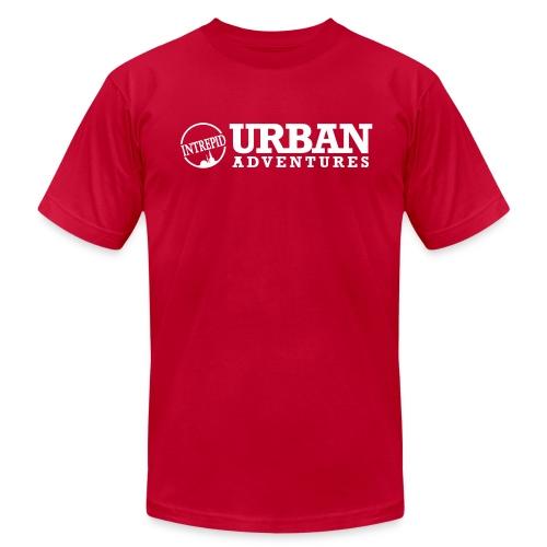 Mens T-Shirt - American Apparel T - UA - Men's Fine Jersey T-Shirt