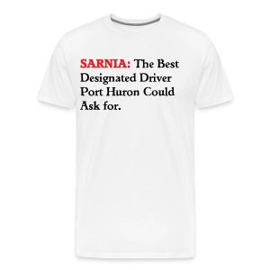 Sarnia: The Best Designated Driver - Float Down - Men's Premium T-Shirt