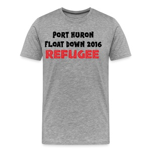 Port Huron Float Down - Refugee - Men's Premium T-Shirt