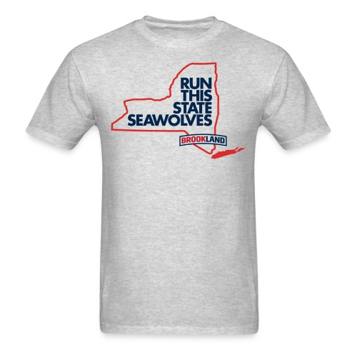 Men's T-Shirt - Some schools are older, others are pricier, a few are bigger, but none are better. New York is for the Seawolves.