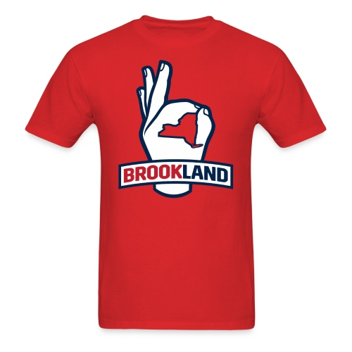 Men's T-Shirt - Welcome to Brookland! Show your support for the officially unofficial home of Seawolves Nation.