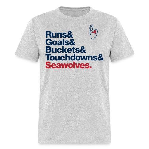 &Seawolves - Men's T-Shirt