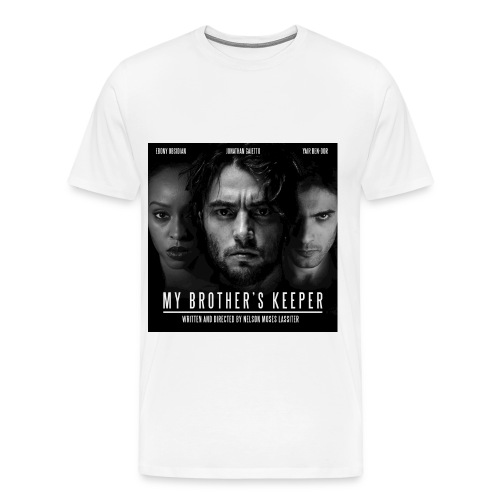 My Brother's Keeper Official White T (mens) - Men's Premium T-Shirt