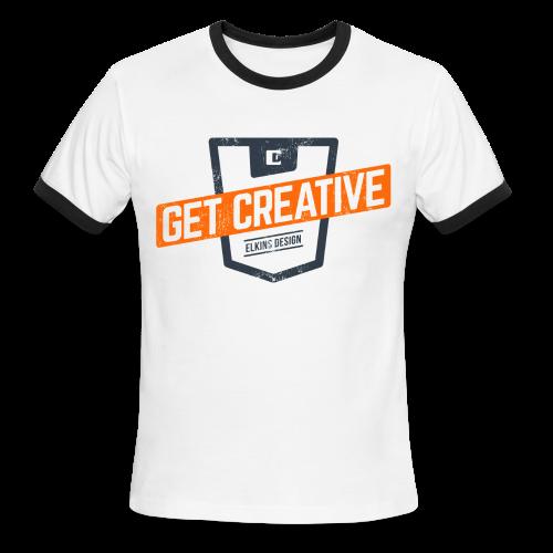 Get Creative Ringer Tee - Men's Ringer T-Shirt