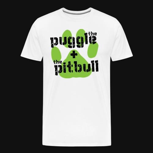 The Puggle & The Pitbull - Men's Premium T-Shirt
