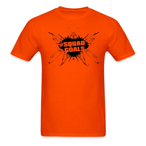 #SquadGoals (Blk) - Men's T-Shirt