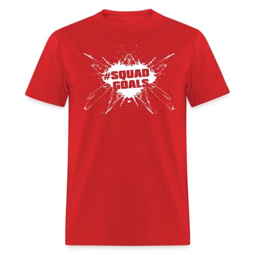 #SquadGoals (White) - Men's T-Shirt